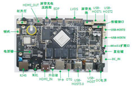 Network Embedded System Board RK3399 Android 7.0 HDMI In Out Infrared Touch Interface